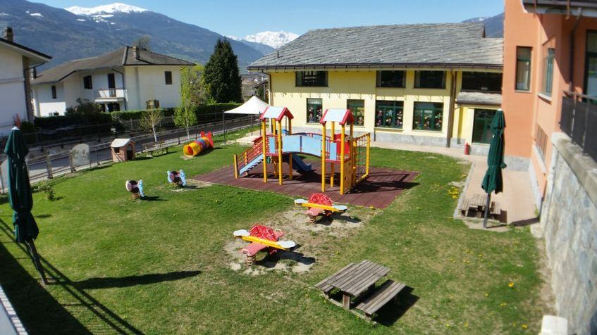 Bret - parco giochi della scuola