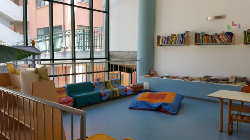 Bret - sala lettura e relax