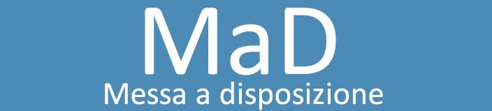 Logo mad messa a disposizione