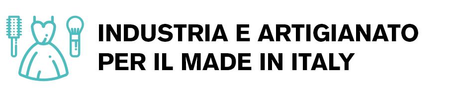 Icona indirizzo industria e artigianato per il made in italy