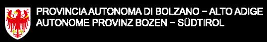 Logo provincia Bolzano