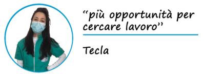 """Tecla dice: """"Più opportunità di lavoro"""""""