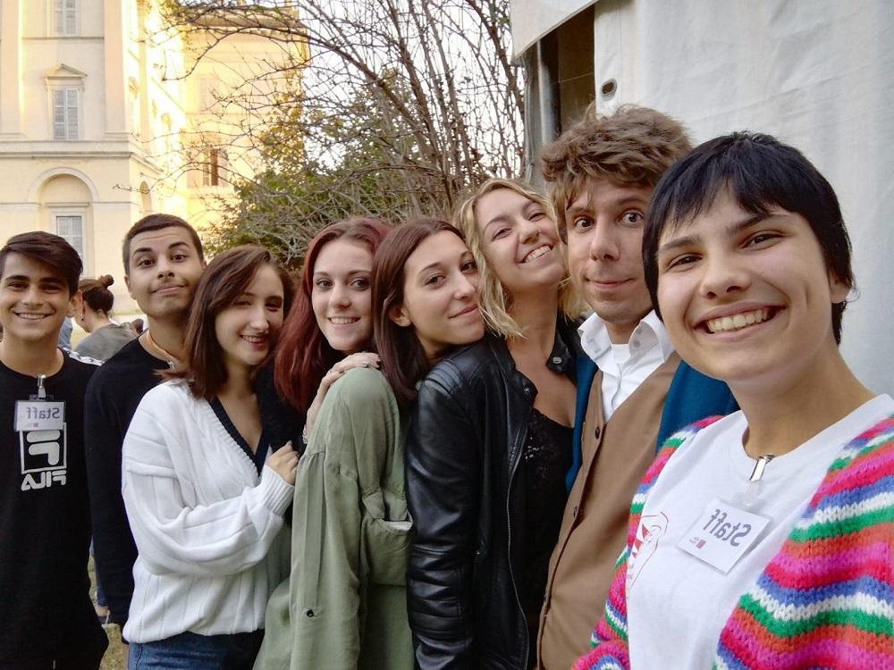 """Studenti durante la manifestazione """"POTTERLAND"""""""