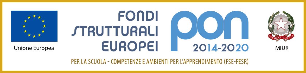 Logo progetti pon