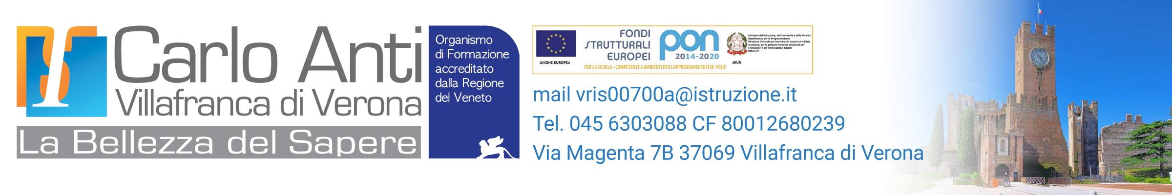 """Istituto Statale Superiore """"Carlo Anti"""" - Villafranca di Verona"""