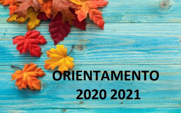 Orientamento 2020-2021